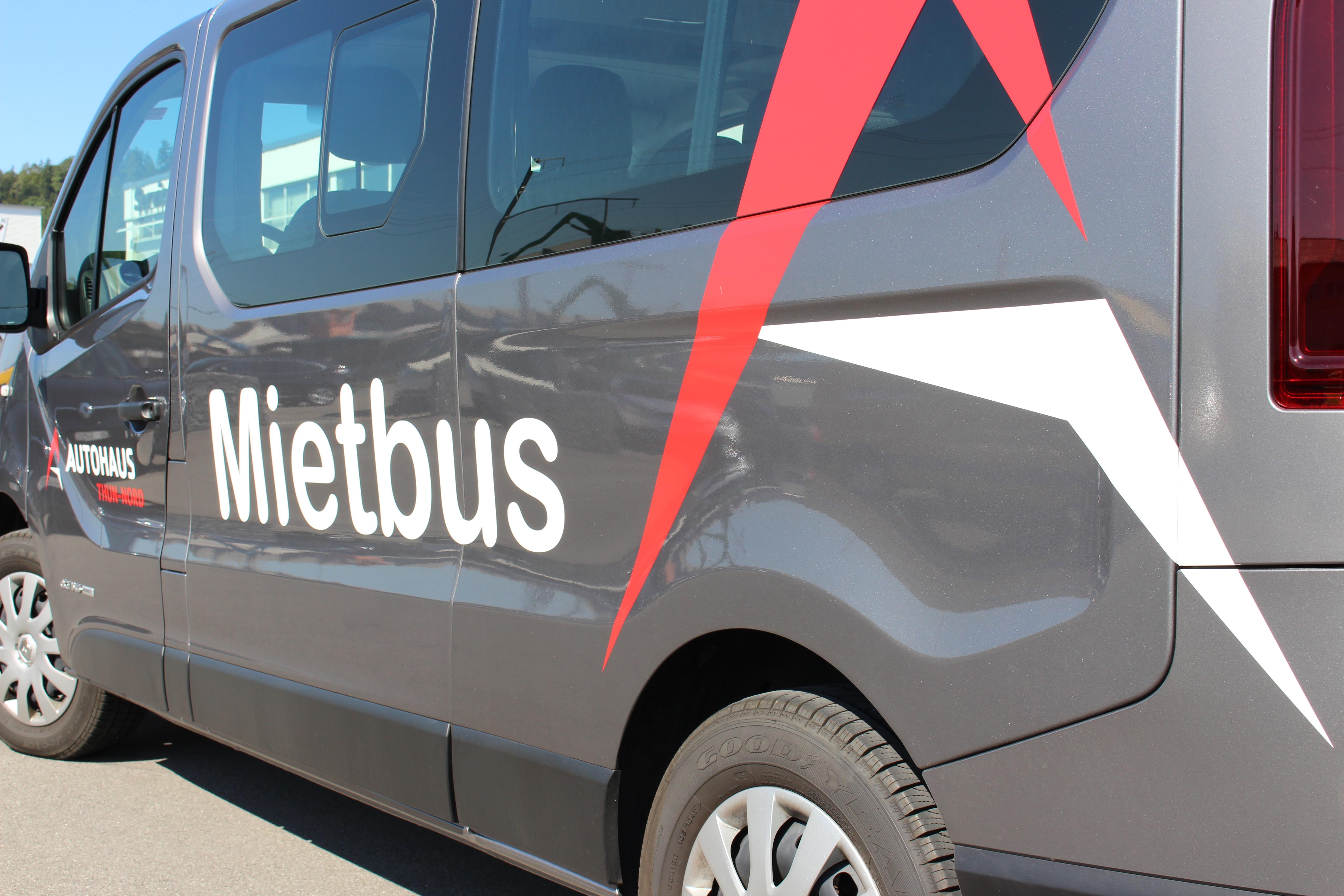 Mietbus - Autohaus Thun Nord
